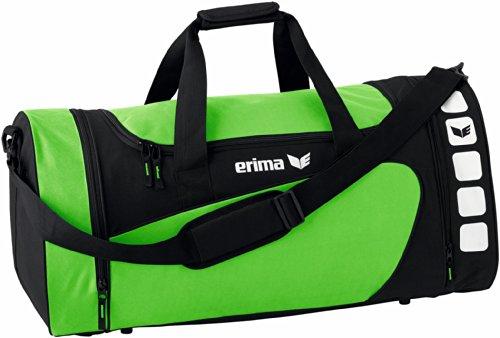 Erima CLUB 5 Sporttasche, grün/schwarz, M