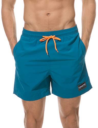 Swim Shorts Badeshort Bermudas türkis-blau EU L