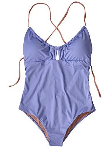 Patagonia W's Glassy Dawn Badeanzug für Damen, 1 Stück S Helles Violett-Blau