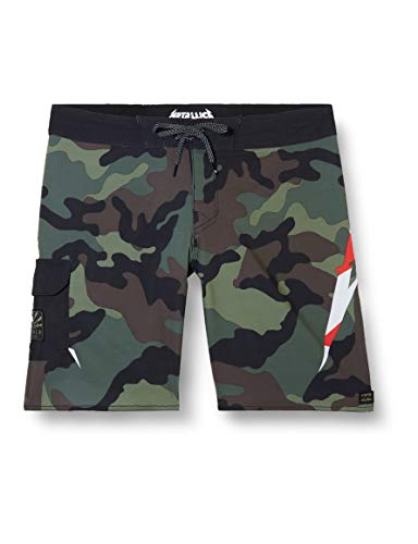 BILLABONG Boardshorts AI Metallica Black 36