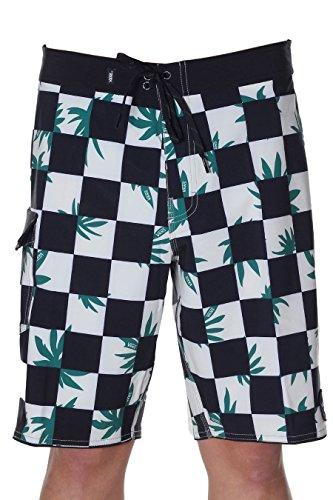 Vans Herren Boardshorts Checkerboard Mixed Scallop Boardshorts