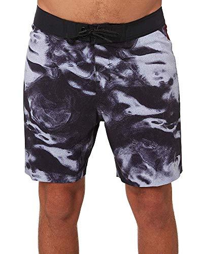 Globe Dion Eclipse Boardshorts für Herren 4XL Gezeiten-schwarz