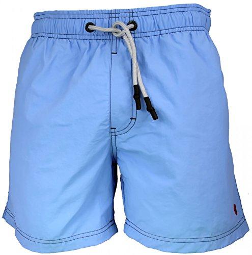 Strellson Herren Badeshorts Boardshorts Strandshorts Shorts Badehose Farbwahl, Grösse:XL - 7-54;Farbe:blau