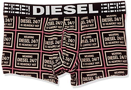 Diesel Herren UMBX-Damien Boxer-Shorts Badehose, Violett/Rot, X-Large