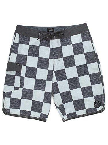 Vans Herren Mixed Scallop Boardshort Badehose, Mehrfarbig (Checkerboard 705), Large (Herstellergröße: 36)
