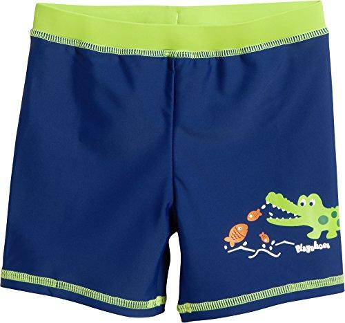 Playshoes Jungen UV-Schutz Short Krokodil Badehose, Blau (Marine 11), 122 (Herstellergröße: 122/128)