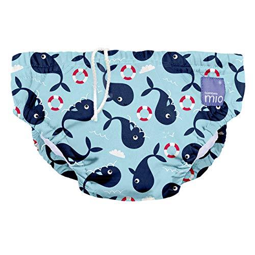 Bambino Mio, wiederverwendbare schwimmwindel, walfisch, M (6-12 Monate)