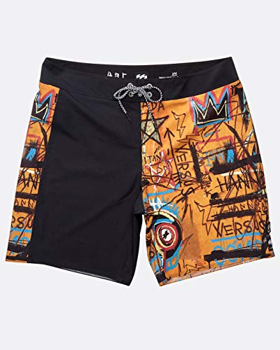 BILLABONG™ Hanibal Pro 17' Boardshorts - Platinum X - Men - 34 - Orange