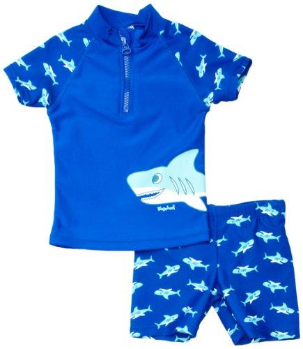 Playshoes - Boxer de natación para niño, tamaño 122 - 128, color azul