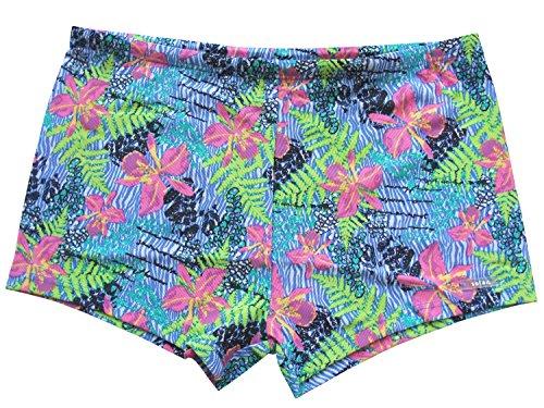 Solar Tan Thru Badehose Panty blau, Gr. 6 (L)