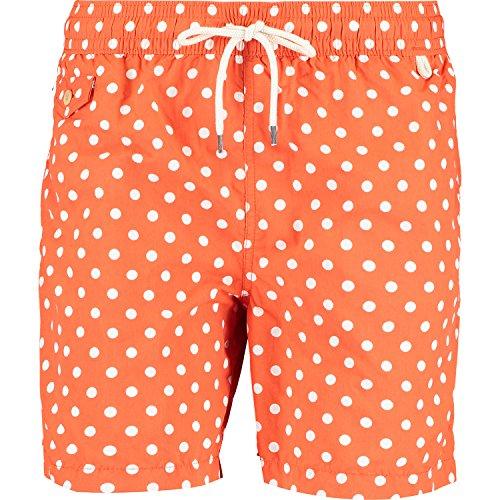 Ralph Lauren Traveller Badeshorts für Herren Gr. M, 33 Dusk Orange