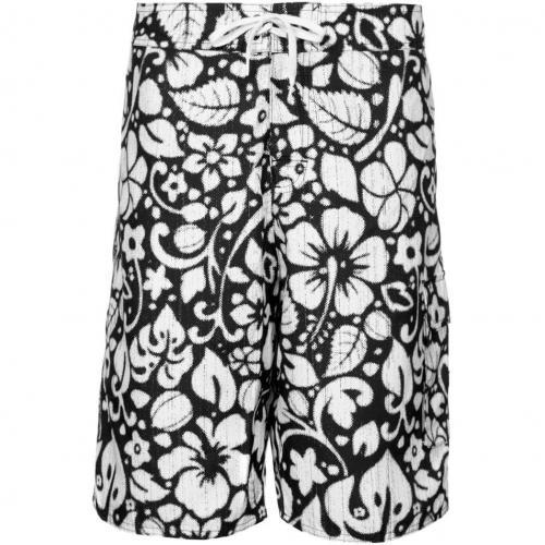 Hawaii Badeshorts black/white von adidas Originals
