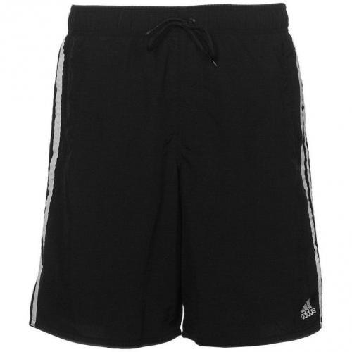3S CL Badeshorts black/dark onix/white von adidas Performance