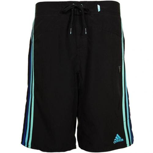 Badeshorts black/joy green/super cyan von adidas Performance
