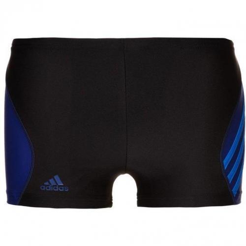 Badeshorts black/prime blue von adidas Performance