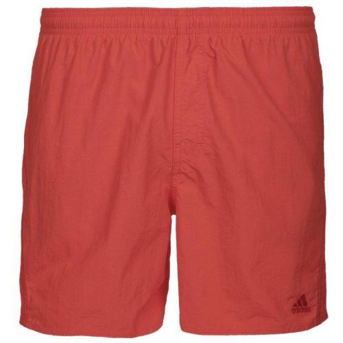 Basic Badeshorts blaze orange/light scarlet von adidas Performance