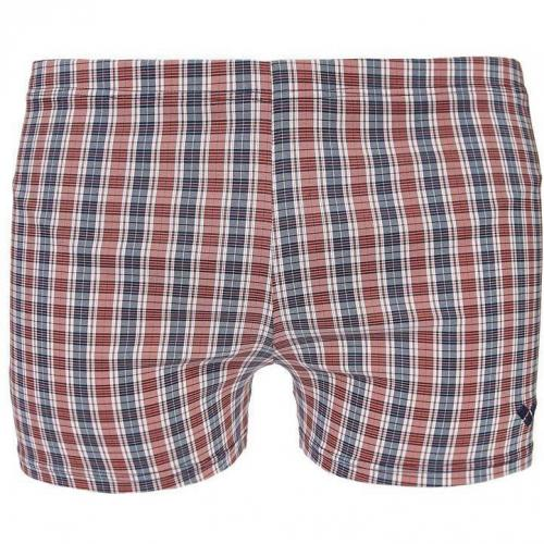 Domino Badeshorts shiny red von Arena