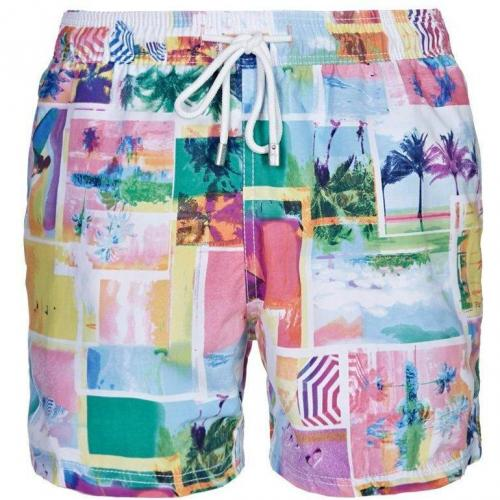 Sunset Badeshorts rose von Arthur