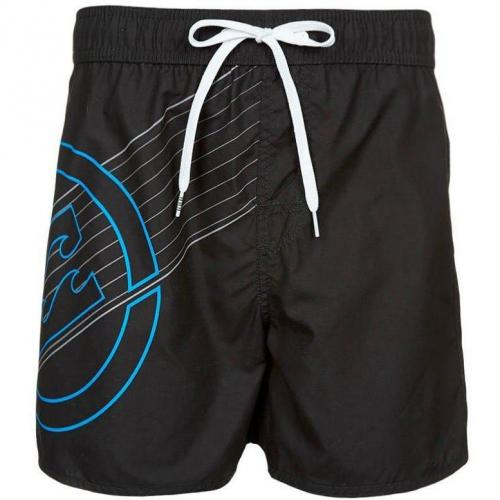 New Line Badeshorts black von Billabong