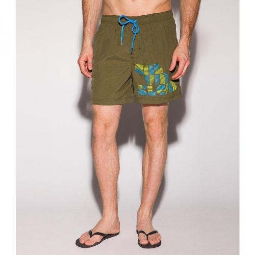 Badeshorts grün von Calvin Klein Swimwear