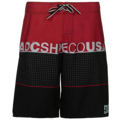 Released Badeshorts rot/schwarz von DC Shoes