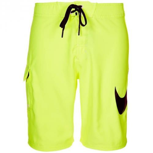neuer Stil von 2019 gutes Geschäft heiße neue Produkte Nike Performance Scout Swoosh Solid Badeshorts gelb - Mr ...