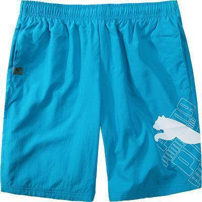 detaillierte Bilder mehrere farben geschickte Herstellung Puma Cat Logo Bermuda blue da.-white 819472/07 - Mr. Wet ...
